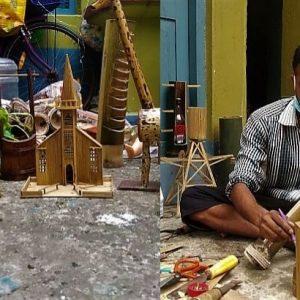 বাঁশের সামগ্রী বানিয়ে বিকল্প কর্মসংস্থান! পথ দেখাচ্ছেন চন্দননগরের শিল্পী