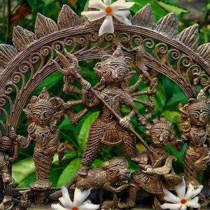 মূর্তি থেকে গহনা, বাঁকুড়ার গৌরব 'ডোকরা' শিল্পে চিন্তার ছায়া
