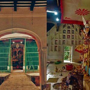তিনশো বছরের ঐতিহ্যের প্রতীক মুস্তাফিদের দুর্গা পুজো!